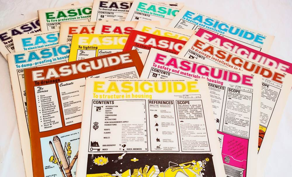 Gerry Maguire Thompson wrote the Easiguide supplements for Building Design magazine