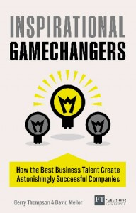 Cover design of Inspirational Gamechangers book