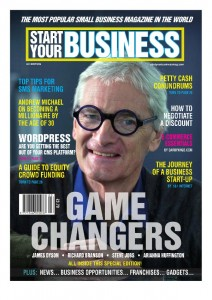 Start Your Business magazine cover