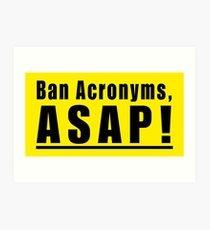 logo: ban acronyms