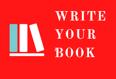 "Logo for ""Write your book"""